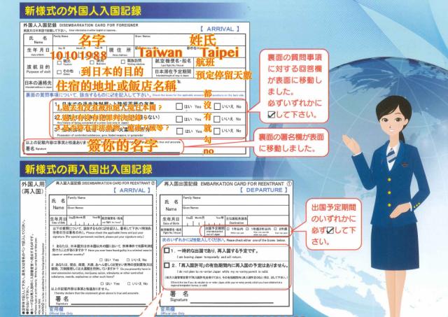 赴日旅行請注意!日本便民新措施 2016年4月1日起簡化旅客入境表格 - nurseilife.cc