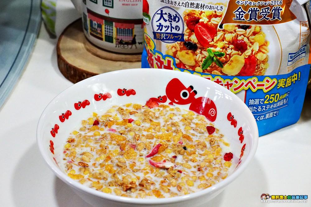 日本超市必買 金賞受賞有草莓果乾的營養多穀物麥片 - nurseilife.cc