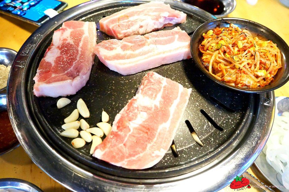 釜山 무한한파8.8.韓式烤肉三種set:豬五花、豬橫膈膜及豬皮都能吃到飽 - nurseilife.cc