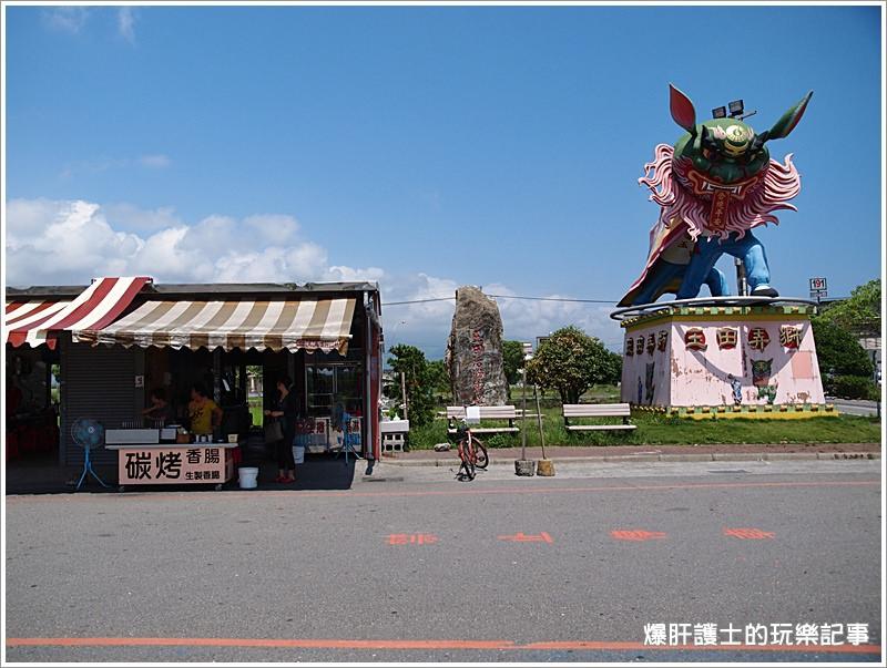 【宜蘭礁溪 小吃】在地人才知道的香腸攤@玉鼎慈天宮碳烤香腸 - nurseilife.cc